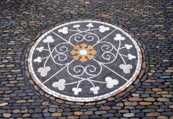 Kopfsteinpflaster in Freiburg