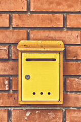 Old obsolete Post Mail Box