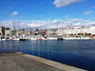 Muelle de A Coruña