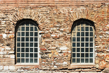 windows of hagia irene church