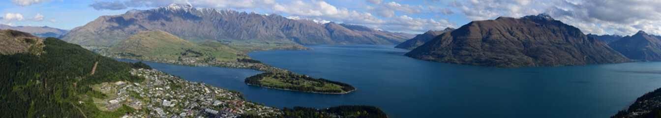 Panorama Queenstown New Zealand