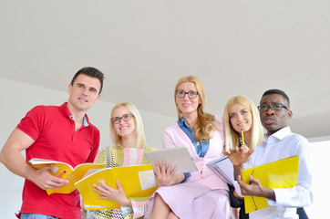 students and professor