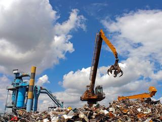 usine de recyclage