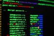 Leinwanddruck Bild - Retrieving passwords from an hacked computer