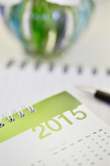calendar of 2015