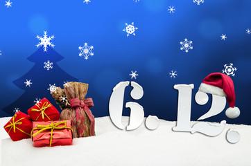 St. Nicholas Day December 06 - blue