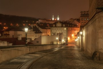 On the way from Prague Castle