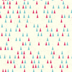 Christmas tree seamless pattern. Vector
