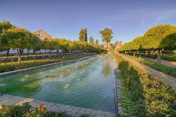 Los jardines de la Mezquita de Córdoba