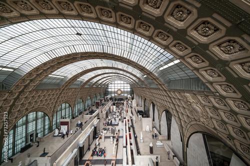 Fotobehang Treinstation Musée d'Orsay, Paris