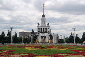 Central Pavilion, VDNKh, Moscow