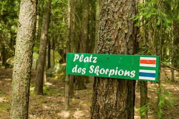 Niederösterreich, Kautzen, Skorpionplatz