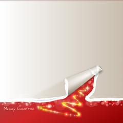 Hintergrund - Riss - Merry Christmas