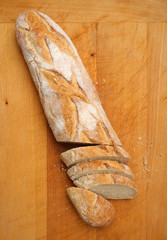 Pain de Campagne Longue Bread Loaf
