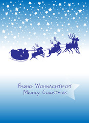 Frohes Weihnachtsfest - Merry Christmas