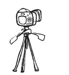 doodle photo camera