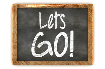 Lets GO! Concept Blackboard