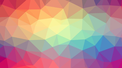Abstract background with triangles. Raster №3
