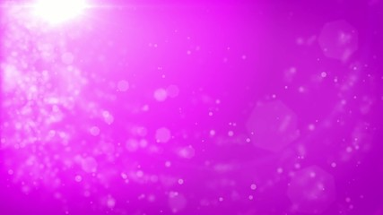 Abstract pink Christmas background with bokeh defocused lights