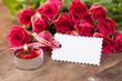 Rosen mit Blankolabel 5
