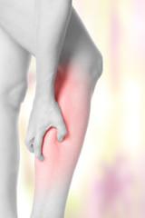 Muskelkrampf in der Wade