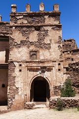 Ruins of Kasbah Telouet in the High Atlas in Central Morocco