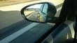 Autobahn Rückspiegel