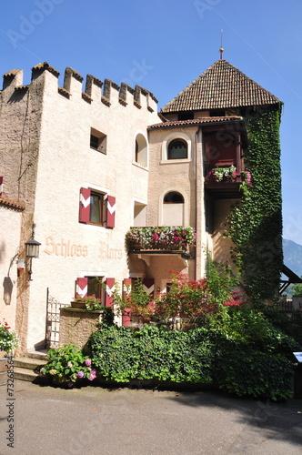 Leinwanddruck Bild Schloss Plars Südtirol