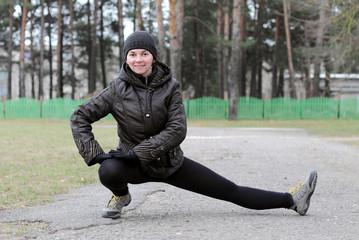 спортивная женщина