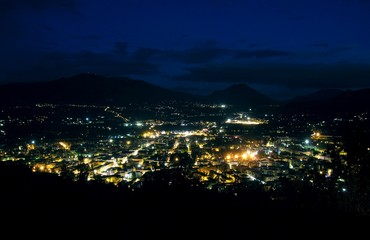 Cassino by night