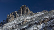 Snow dusts Catalina Mountain peak on Mt. Lemmon