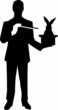 Magician Silhouette - 73272312