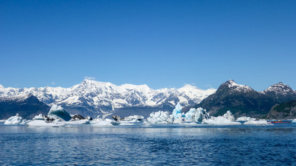 Icebergs at Columbia Glacier
