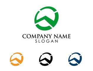 W letter logo 1
