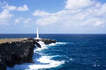 沖縄の風景・残波岬