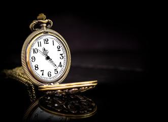 Vintage locket clock
