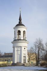 Колокольня Софийского собора построенная  Л.Н. Бенуа.