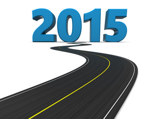 new year road