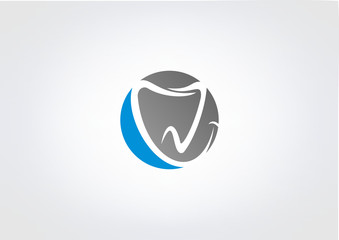 dental logo business icon tooth klinik dental symbol.