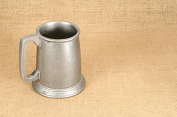 Aluminium beer mug