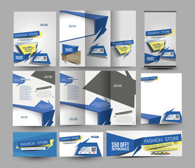 Fahion Store Stationery Set Template