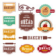 Bakery Vintage labels such as logo design vector templates - 73277141
