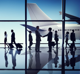 Business People Travel Airport Concepts