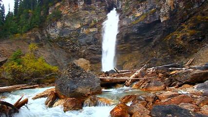 Laughing Falls Yoho National Park