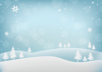Merry Christmas Abstract Background