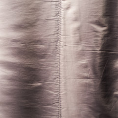 Creased down jacket fragment