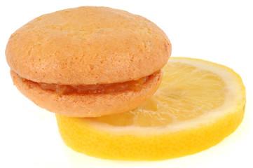 Un macaron au citron