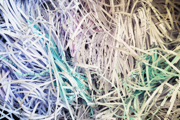 An Shredded Papaer Background recycle