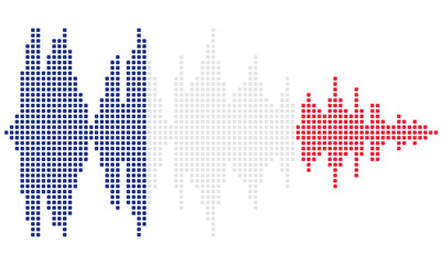 Soundwave French flag