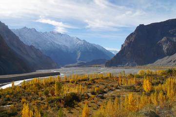 Autumn in Pasu,Northern   Pakistan